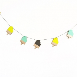 IJSJESSLINGER neon mint grijs By June Interiors
