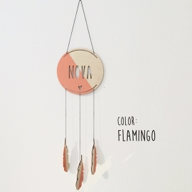 DREAMCATCHER flamingo by June