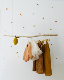 Confetti koper muurstickers