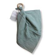 Chewies - doek vergrijsd groen