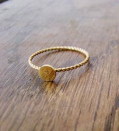 Ring Goud kleur - Anna Sieraad