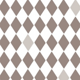 Bibelotte Behangposter Little Wieber Taupe