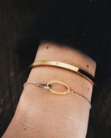 Armband #80 goud - Anna Sieraad