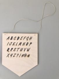 Alfabet bordje