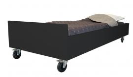 1 persoons bed Zwart