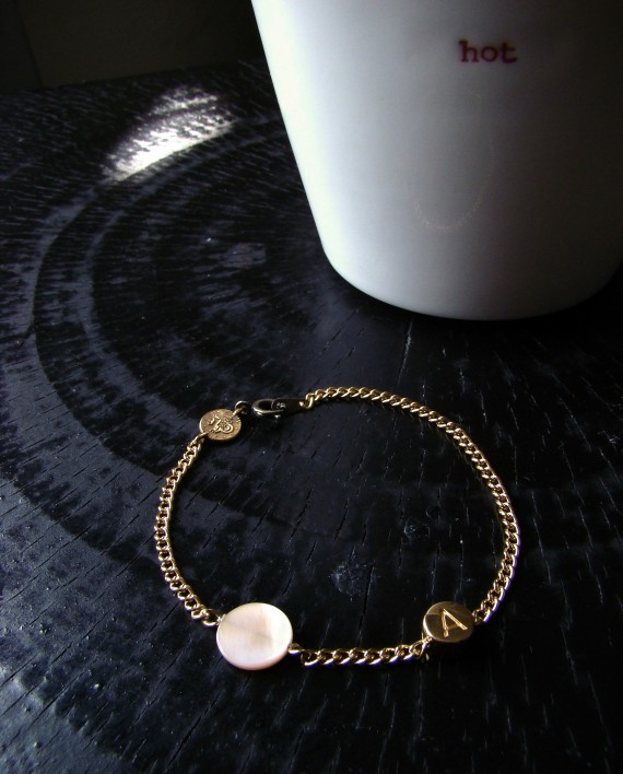 Armband #62 Goud kleur