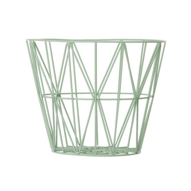 Wire basket / Opbergmand mint van Ferm Living