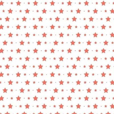 Bibelotte Behangposter Little Stars Koraal