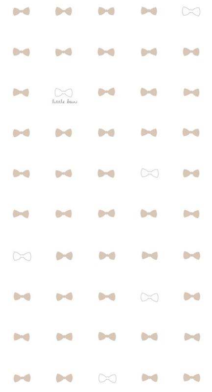 Behang bow nude - Bibelotte