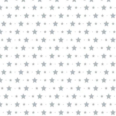 Bibelotte Behangposter Little Stars Blauw