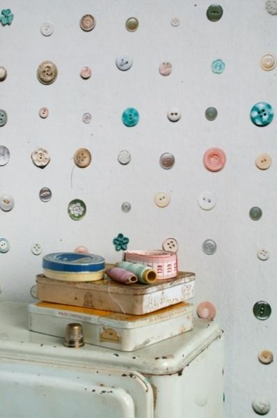 Studio Ditte Knopen behang