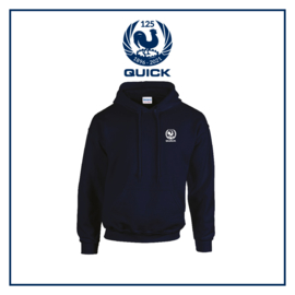 Hooded sweater Q125 - navy
