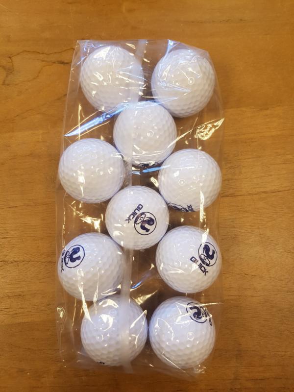 Quick golfbal - 10 stuks