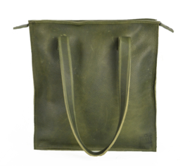 The Harley bag army green