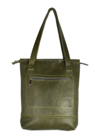 S.C. Sally Zipper army green