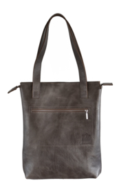 S.C. Sally Zipper taupe
