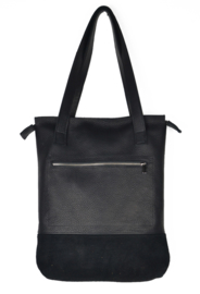 S.C. Sally zipper black 01