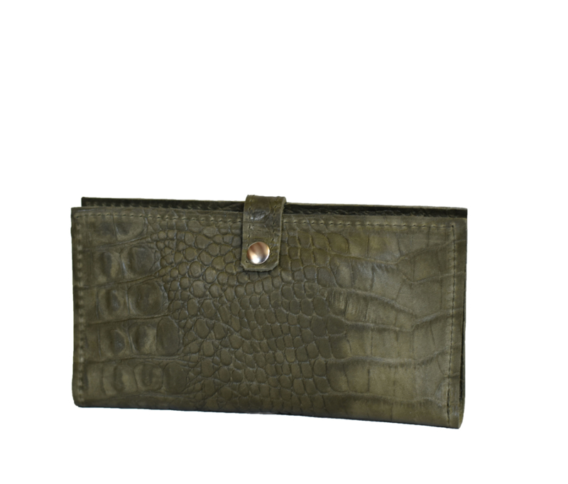 Johnny C. Croco army green