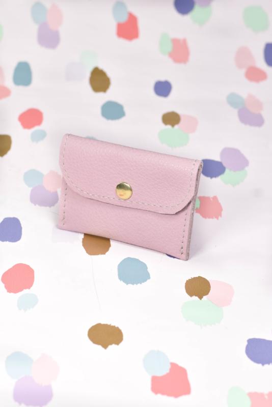 Cardholder licht roze