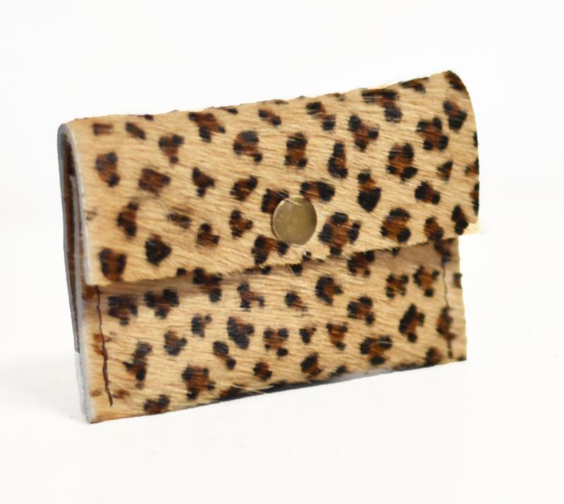 Cardholder luipaardprint