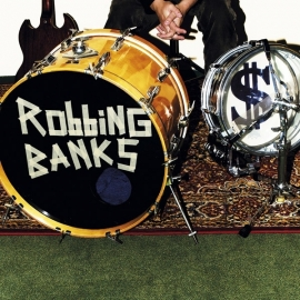 Robbing Banks Onemanband - S/T 10""