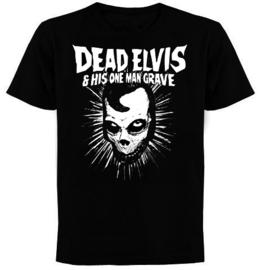"""Dead Elvis """"POSTMORTAL"""" shirt"""