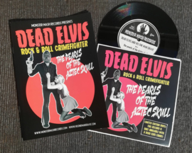 "Dead Elvis - Comic + The pearls of the Aztec skull (7"")"