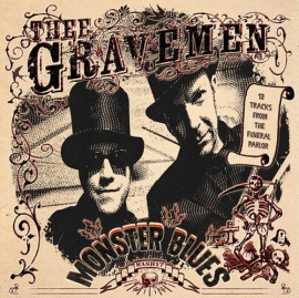 "Thee Gravemen - Monster Blues (12"")"