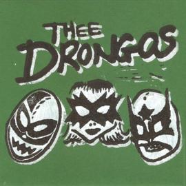 "Thee Drongos - Do the drongo! (lim. linocut serie split 7"")"