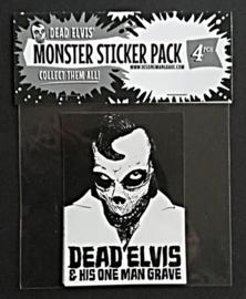 Monster sticker pack (4pcs)