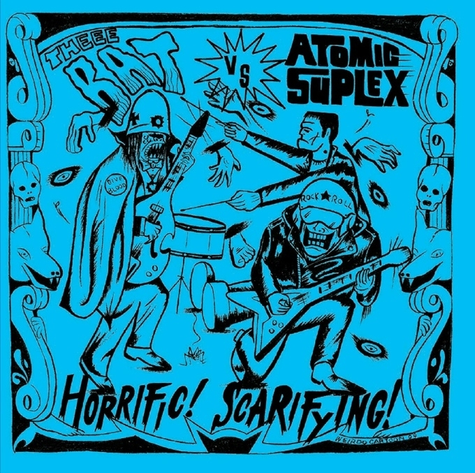 Theee Bat vs. Atomic Suplex 7""