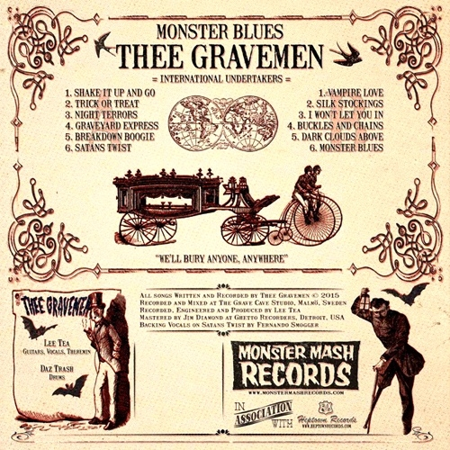 "Thee Gravemen - Monster Blues (12"")"