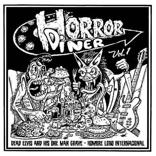 "Dead Elvis vs. Hombre Lobo (split 7"")"