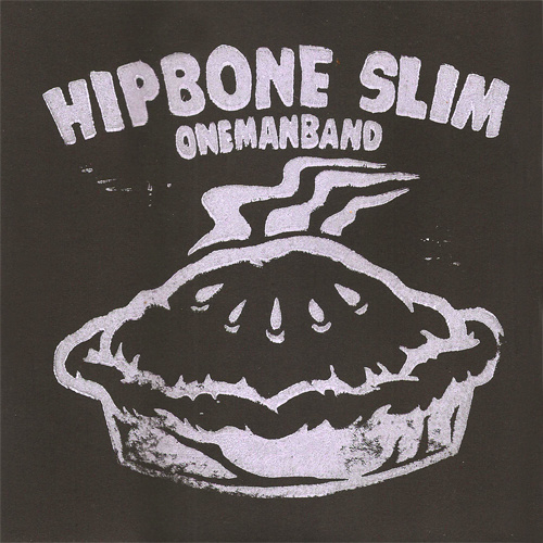 "Hipbone Slim Onemanband - Gonna have my cake and eat it (lim. linocut serie split 10"")"