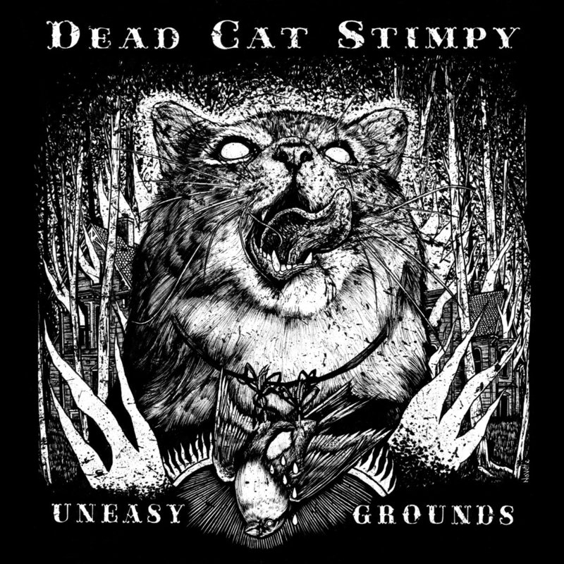 Dead Cat Stimpy - Uneasy Ground 12""
