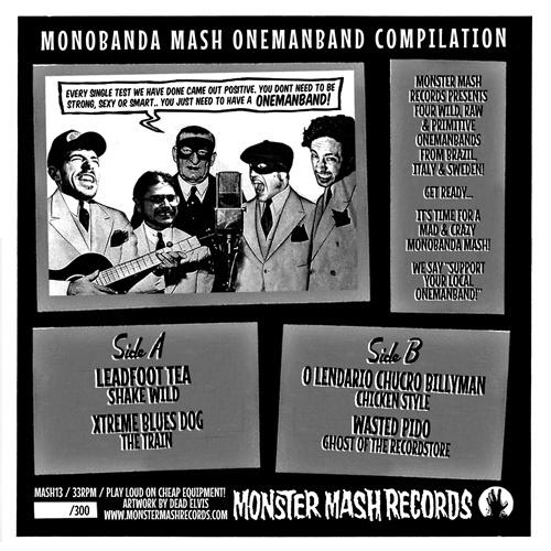 """Monobanda Mash Vol.2 V/A (7"""")"""