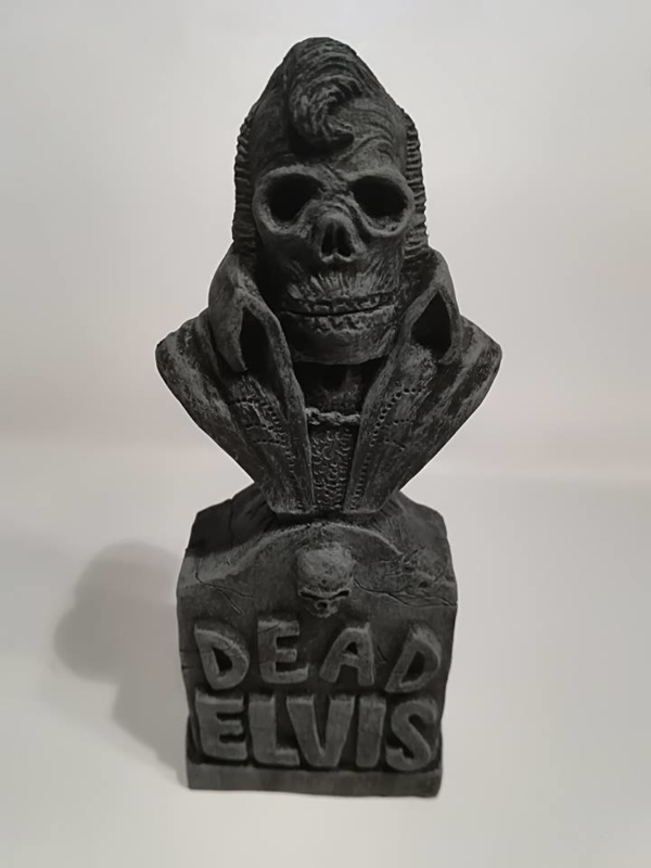 Dead Elvis - 'Action Hero Monster Bust'.