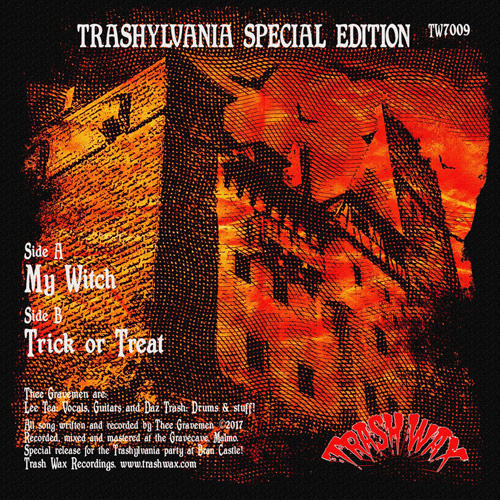 "Thee Gravemen - My Witch 7"""