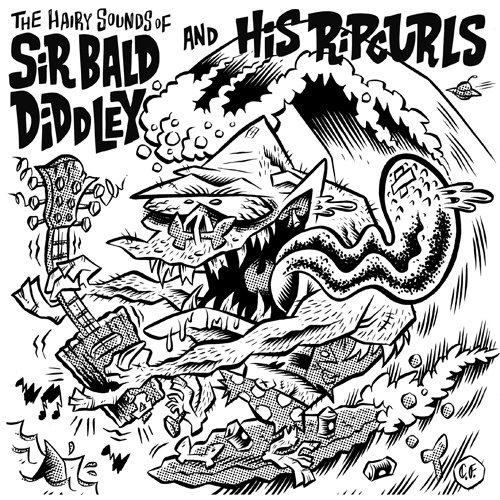 "Sir Bald Diddey & His Ripcurls - The Hairy Sounds Of... (7"")"