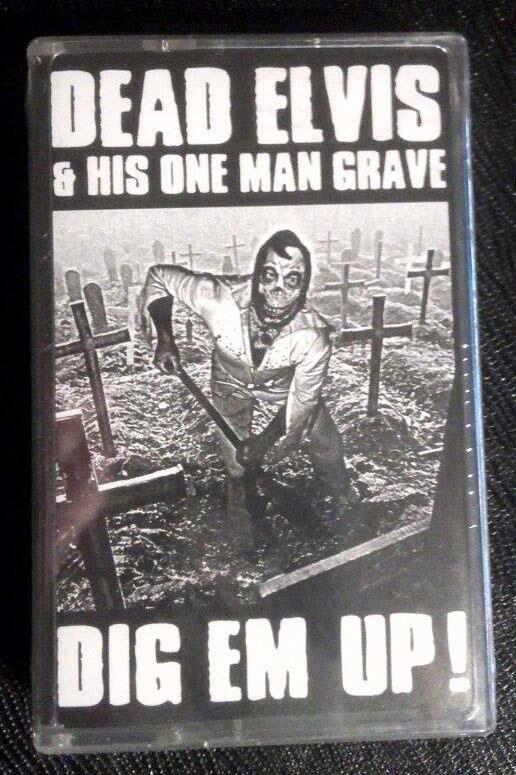 Dead Elvis  - Dig Em' Up! MASH20 (cassette)