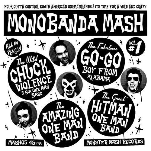"""Monobanda Mash Vol.1 V/A (7"""")"""