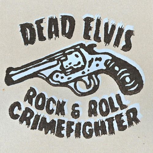 "Dead Elvis - Comic + The pearls of the Aztec skull (lim. linocut serie 7"")"