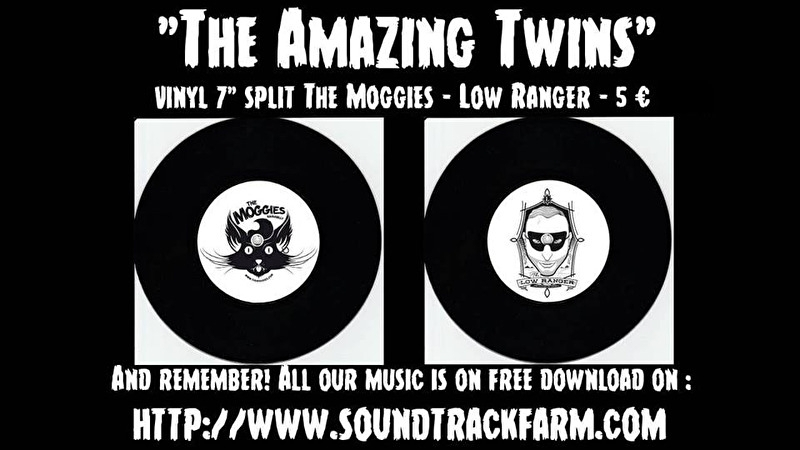 Low Ranger / The Moggies (split) 7""