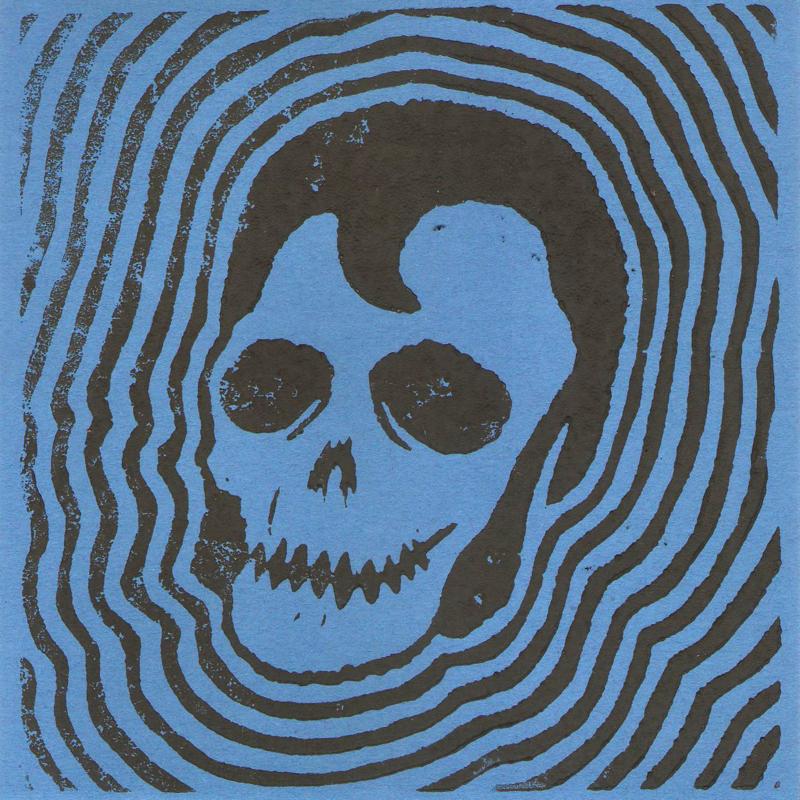 "Dead Elvis - Cursed (lim. linocut serie split 7"")"