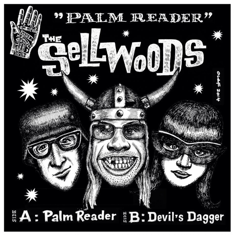 The Sellwoods - Palm reader 7""