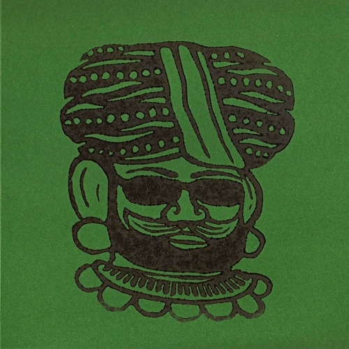 "The Great Munzini & The Astonishing Sotos - Turban Twist (Lim. linocut serie 7"")"