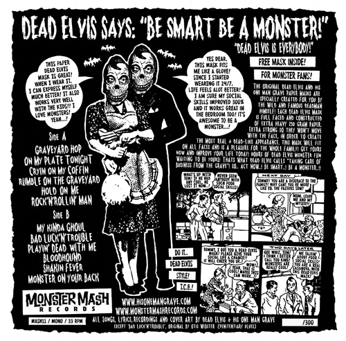 "Dead Elvis - Monster Masquerade (12"")"