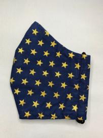 Mondkapje 'golden star'
