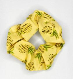 Scrunchie ananas geel