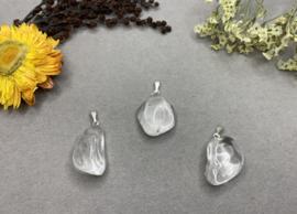 Bergkristal gepolijst hanger